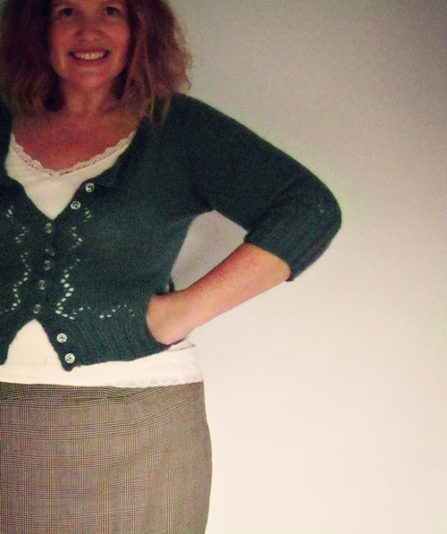 Finally Finished! Miette cardigan