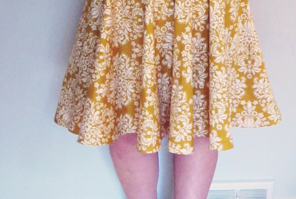 The Archie Bunker Skirt (modified Kwik Sew 3637)