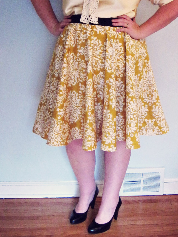 The archie bunker skirt modified kwik sew 3637 patty brower jeuxipadfo Gallery