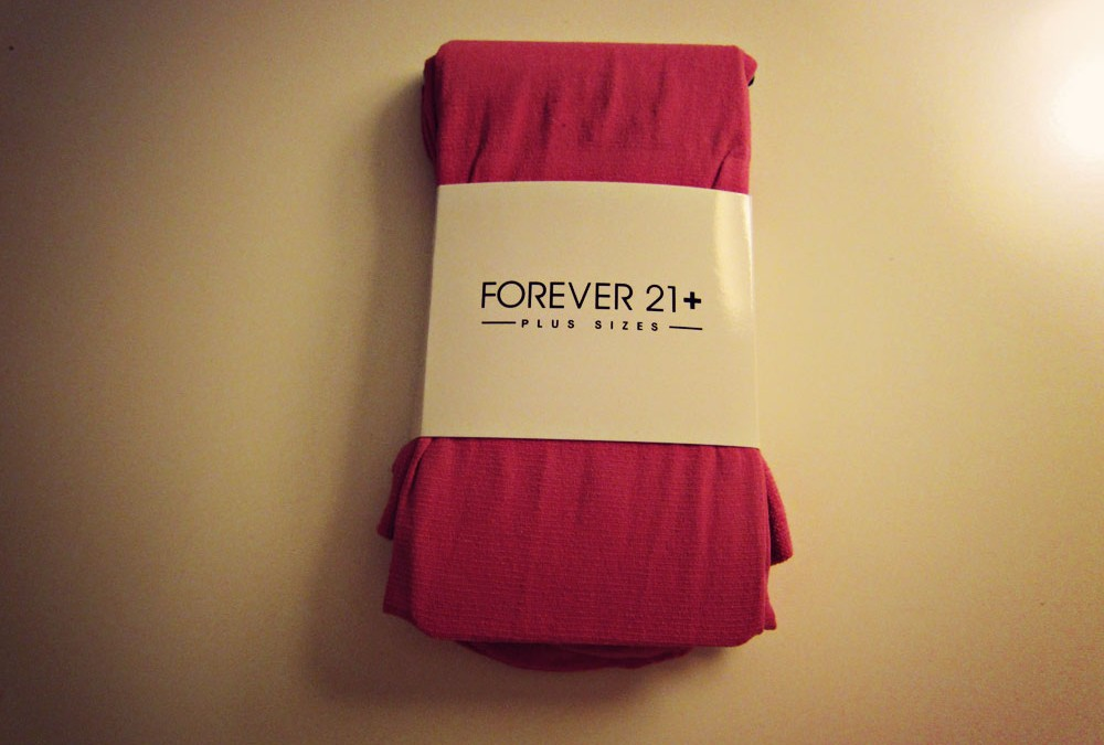 Road Test: Forever 21 Plus size tights