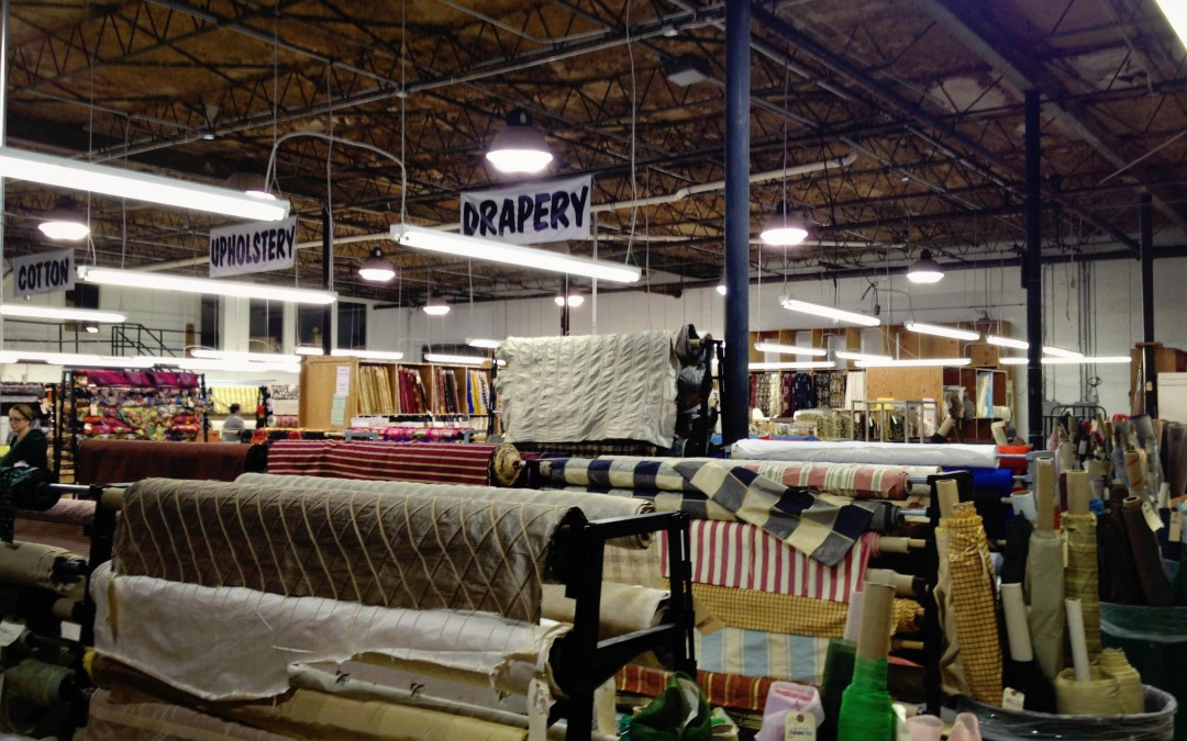 Sewing Tours, Dallas Edition. Golden D'or Fabric Outlet