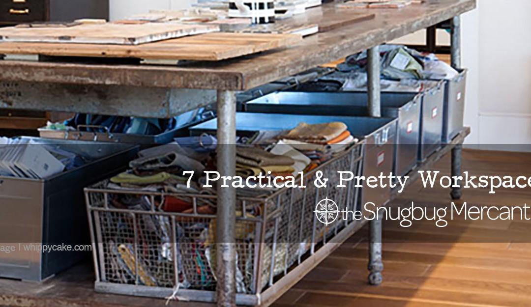 7 Practical & Pretty Workspaces