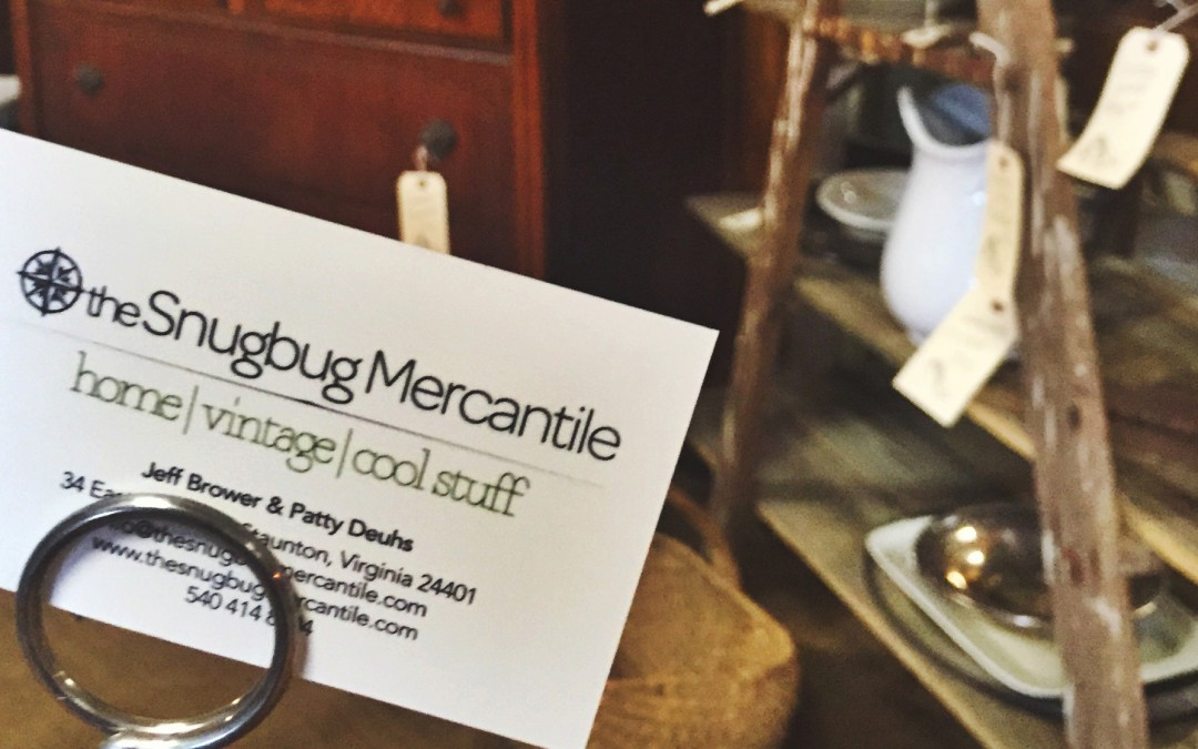 New Digs! The Snugbug Mercantile now at Greenwood Antiques & Uniques