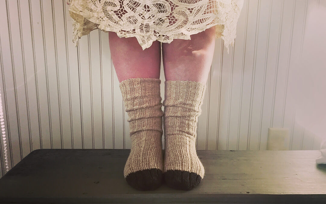 {finished} Quickie Cozy Socks
