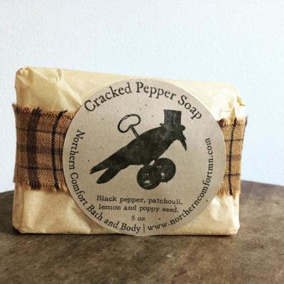 Cracked Pepper Soap