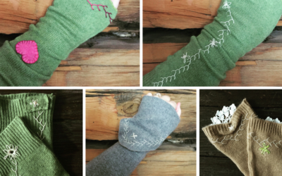 {tutorial} Cashmere Wrist Warmers
