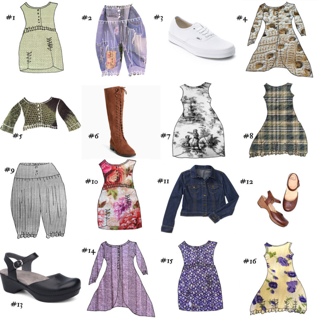 Original Spring Wardrobe Sudoku by Patty Brower