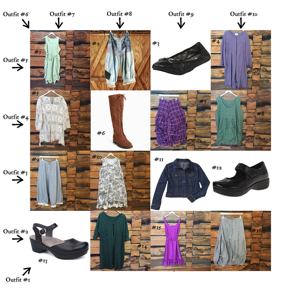 Spring Wardrobe Sudoku by Patty Brower