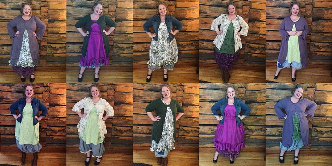 Spring Wardrobe Sudoku by Patty Brower