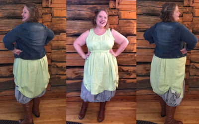 {finished} Tina Given's Patricia Skirt and Tunic