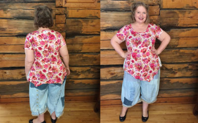 {finished} Cashmerette Concord T Pattern Review