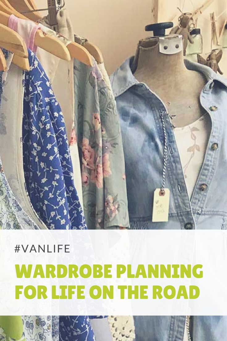 Wardrobe planning for our upcoming adventure living out of our minivan | The Snugbug Blog
