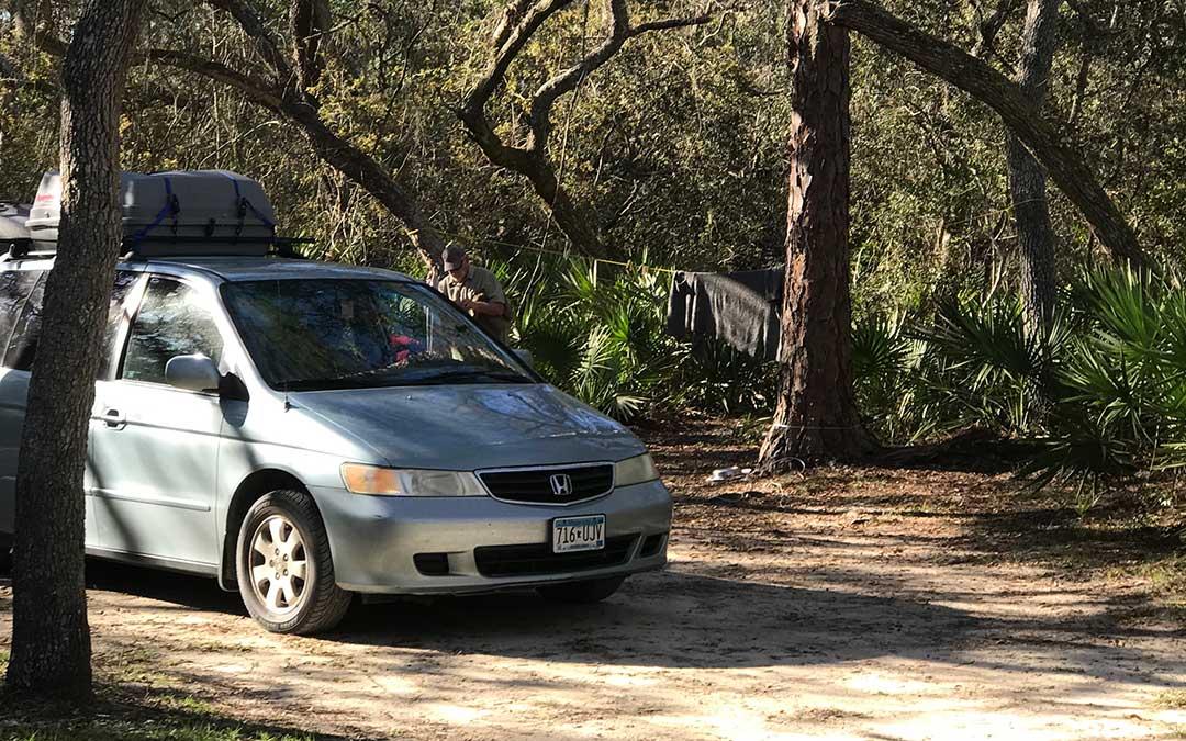 Honda Odyssey Minivan Camper Tour